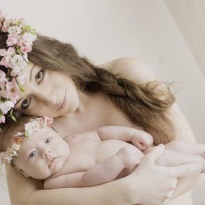 Květinové doplňky pro miminka