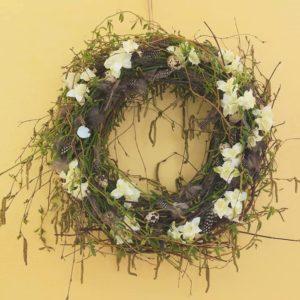 Ukázka aranžování květinových dekorací