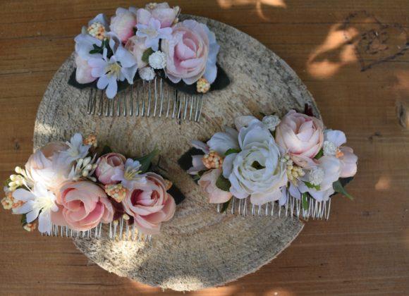 Svatební květinové doplňky