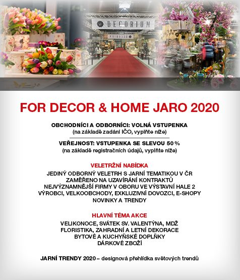 FOR DECOR AND HOME PRAHA
